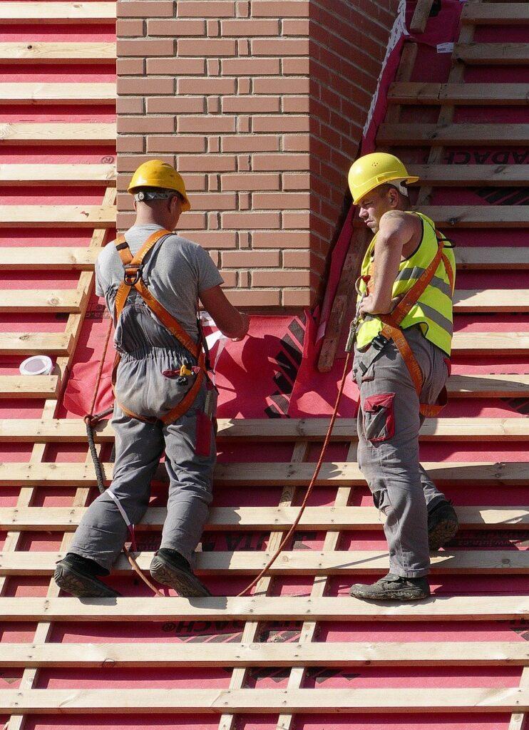 man, roofers, craftsmen